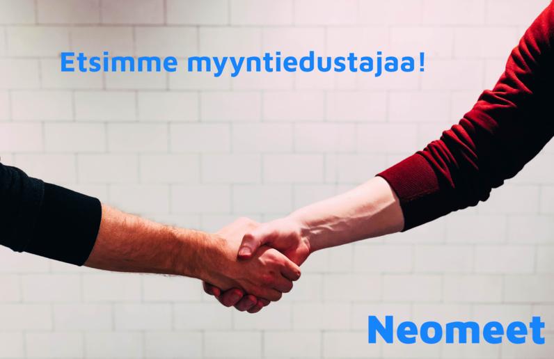 kädenpuristus - Neomeet