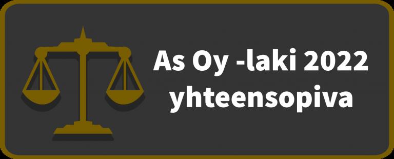 As Oy -laki 2022 yhteensopiva